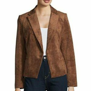 Ivanka Trump  Caramel Open Front Jacket